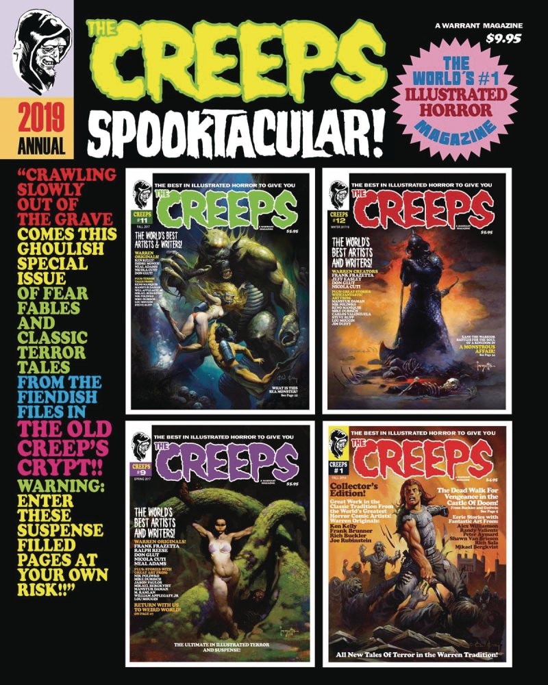The Creeps 2019 Annual