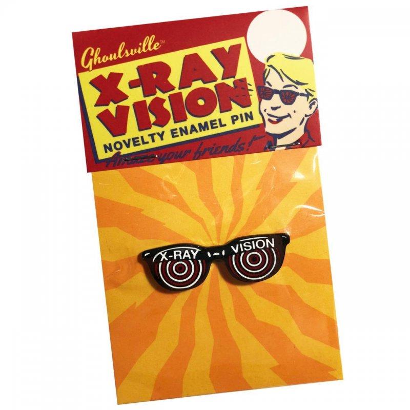 X-Ray Vision Enamel Pin