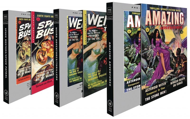 Ziff-Davis Sci-Fi Slipcase Set