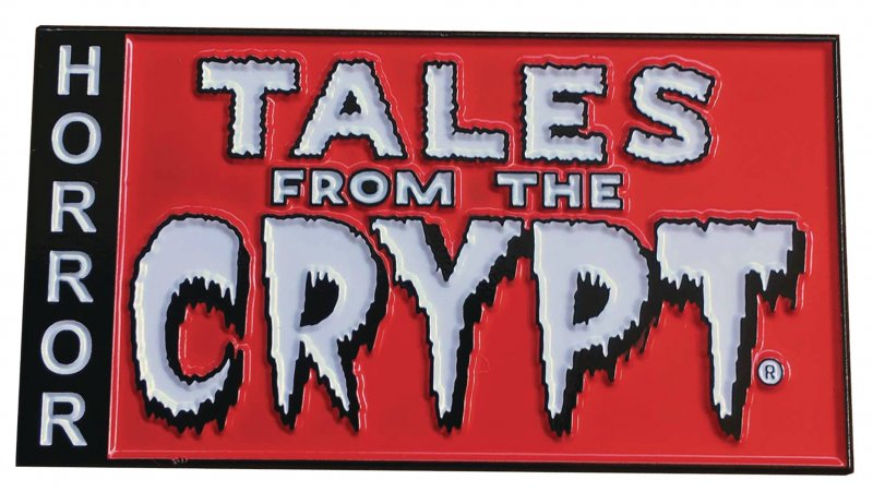 Tales from the Crypt logo pin