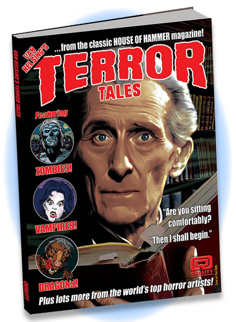 The House Of Hammer van helsing's terror tales from the house of hammer - hard cover