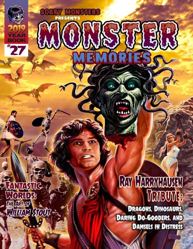 Monster Memories #27 draft art