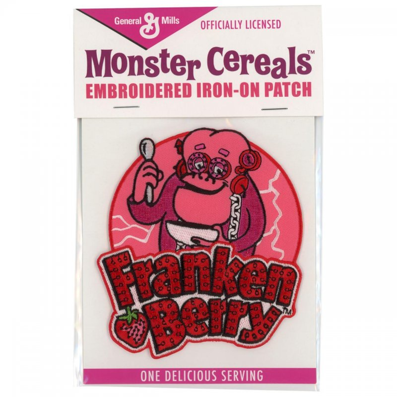 Franken Berry patch in package