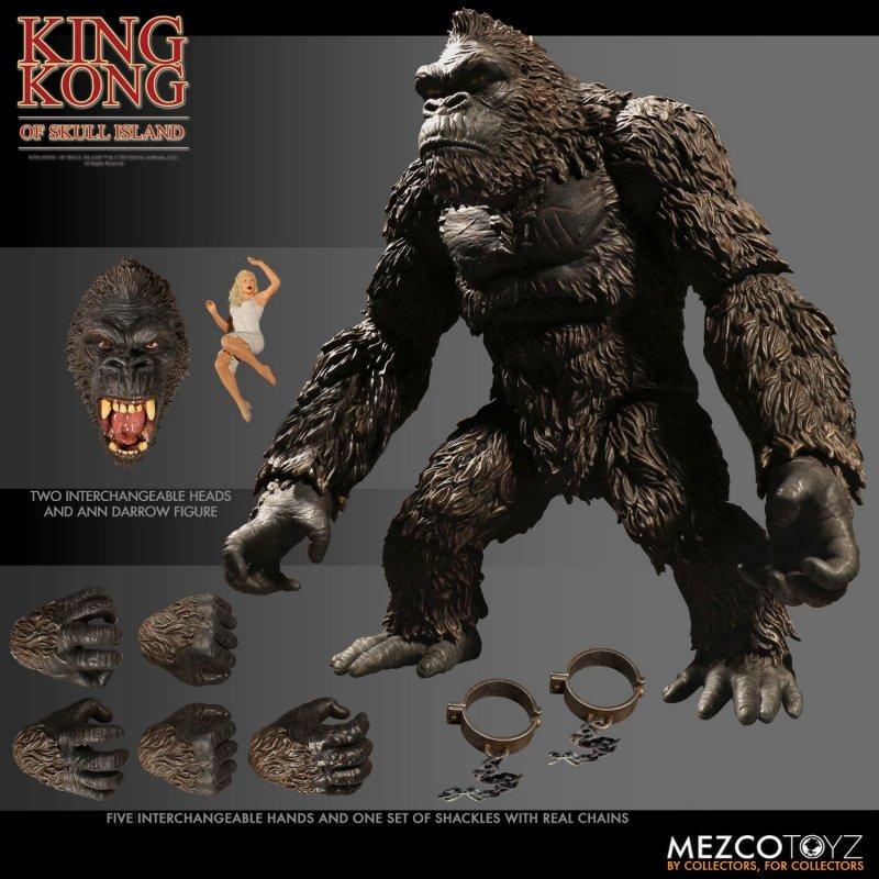Mezco King Kong packaging