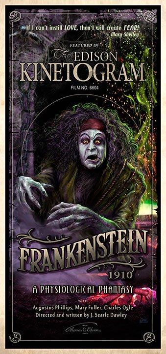 1910 Frankenstein Art Print