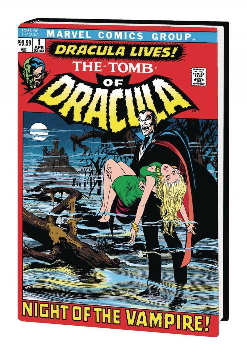 Tomb of Dracula V1 Hard Cover