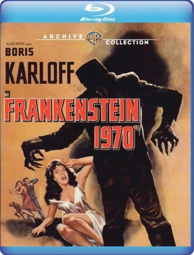 Frankenstein 1970 Blu-ray
