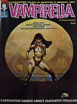 Vampirella #1 reprint