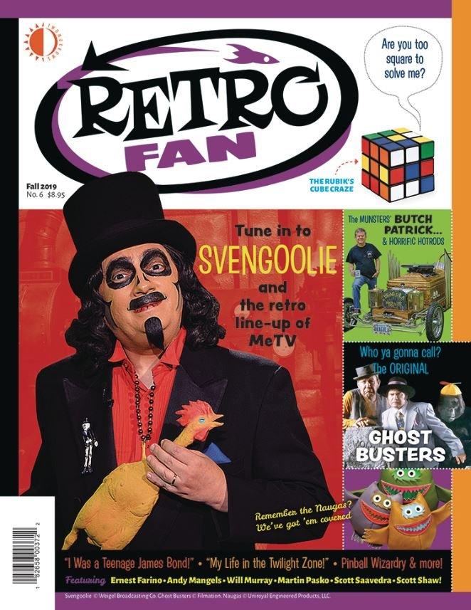 RetroFan #6 contents page