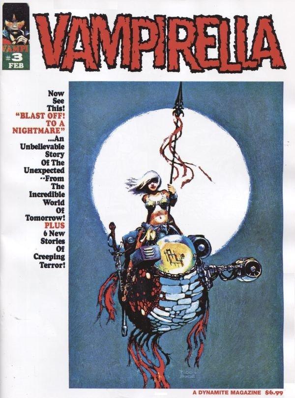 Vampirella #3 (1969) Facsimile