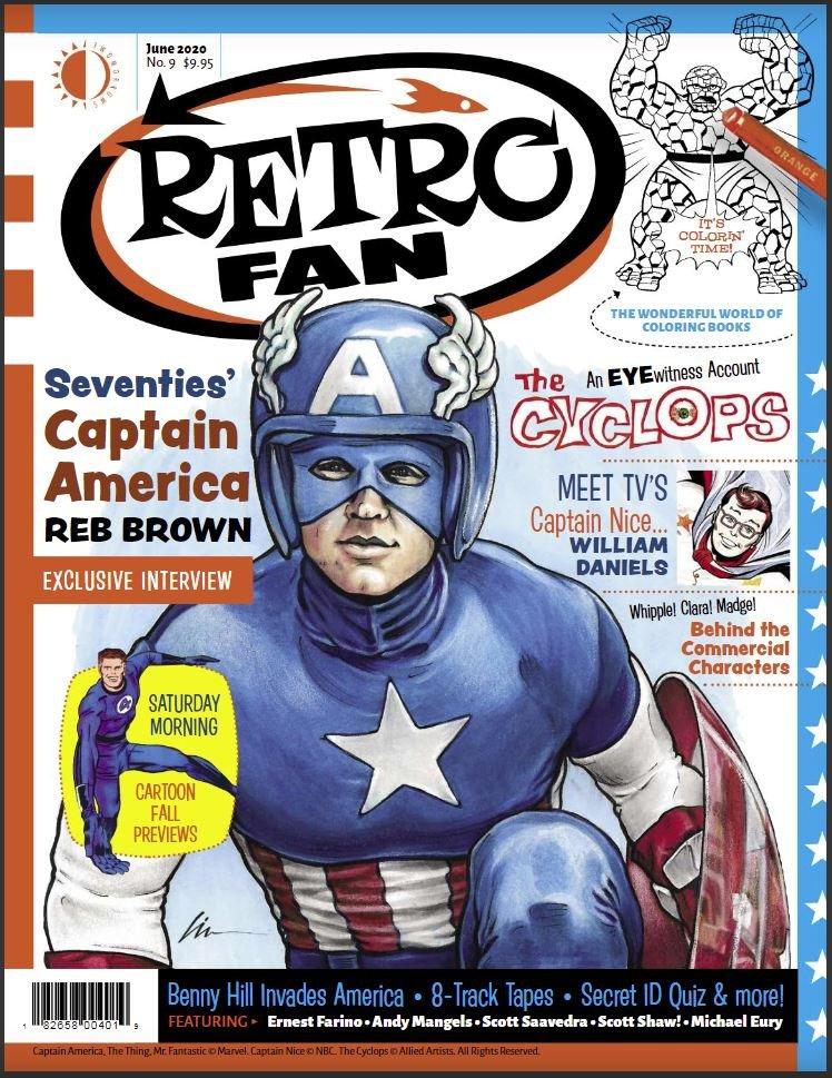 RetroFan #9 contents page