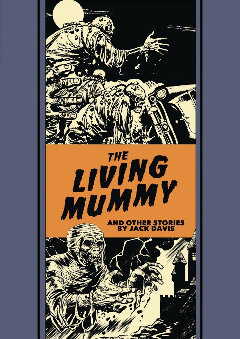 The Living Mummy book