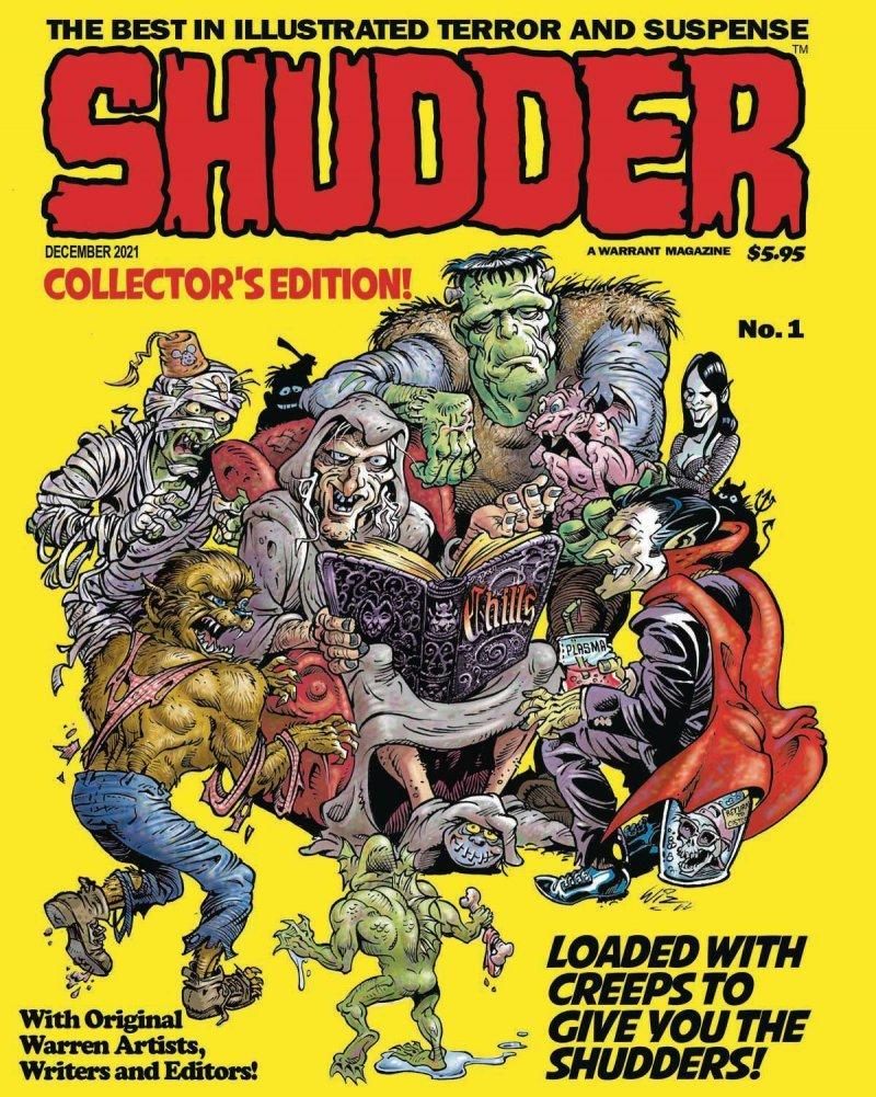 Shudder #1 Collector's Edition
