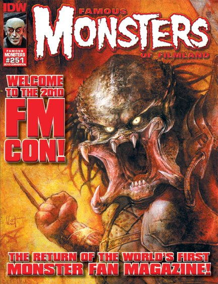 Famous Monsters #251 Conv Cvr