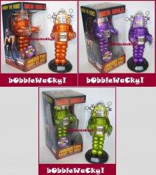Thumbnail of Funko ROBBY THE ROBOT 2010 Comic Con SET of 3 Exclusive Wacky Wobbler bobble