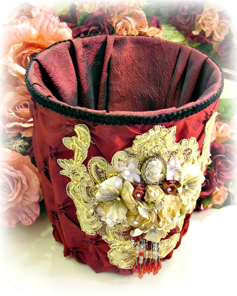 Image 1 of Regency Elegance Magazine Basket