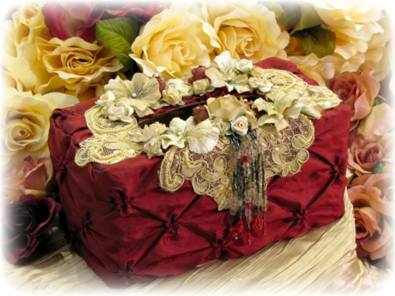 Image 1 of Regency Elegance Large Tissue Holder