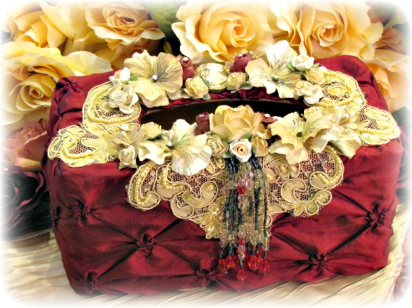 Image 0 of Regency Elegance Large Tissue Holder