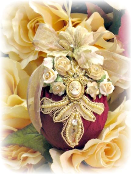 Image 1 of Regency Elegance Ornaments Set of 4 pcs.