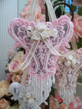 Image 2 of Roses and Pearls Sachets