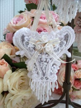 Image 3 of Roses and Pearls Sachets