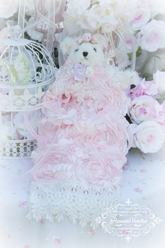 Rose Blush Teddy Bear