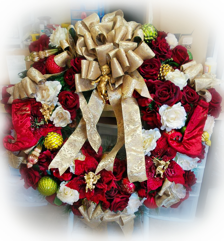 Image 1 of Rose Wreath