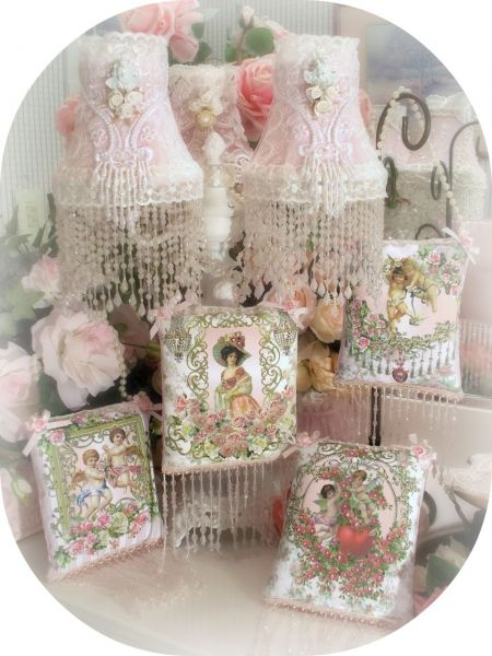 Crystal Roses Sachets