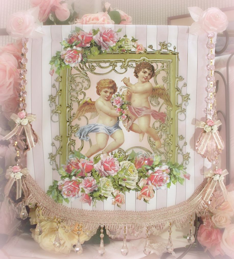 Crystal Roses Wall Tapestries