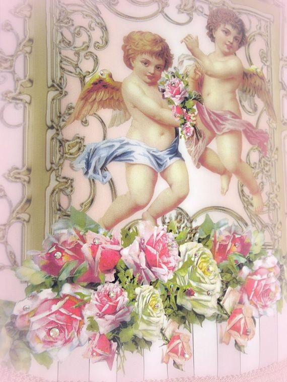 Image 2 of Crystal Roses Wall Tapestries