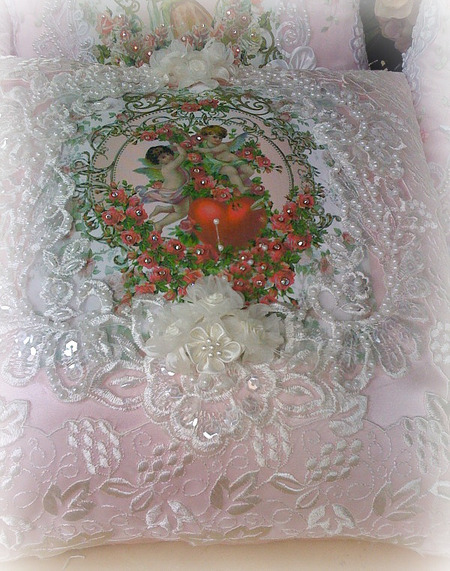 Image 4 of Crystal Roses Pillows
