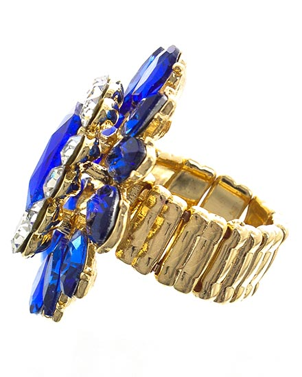 Image 1 of Sapphire Stretch Ring
