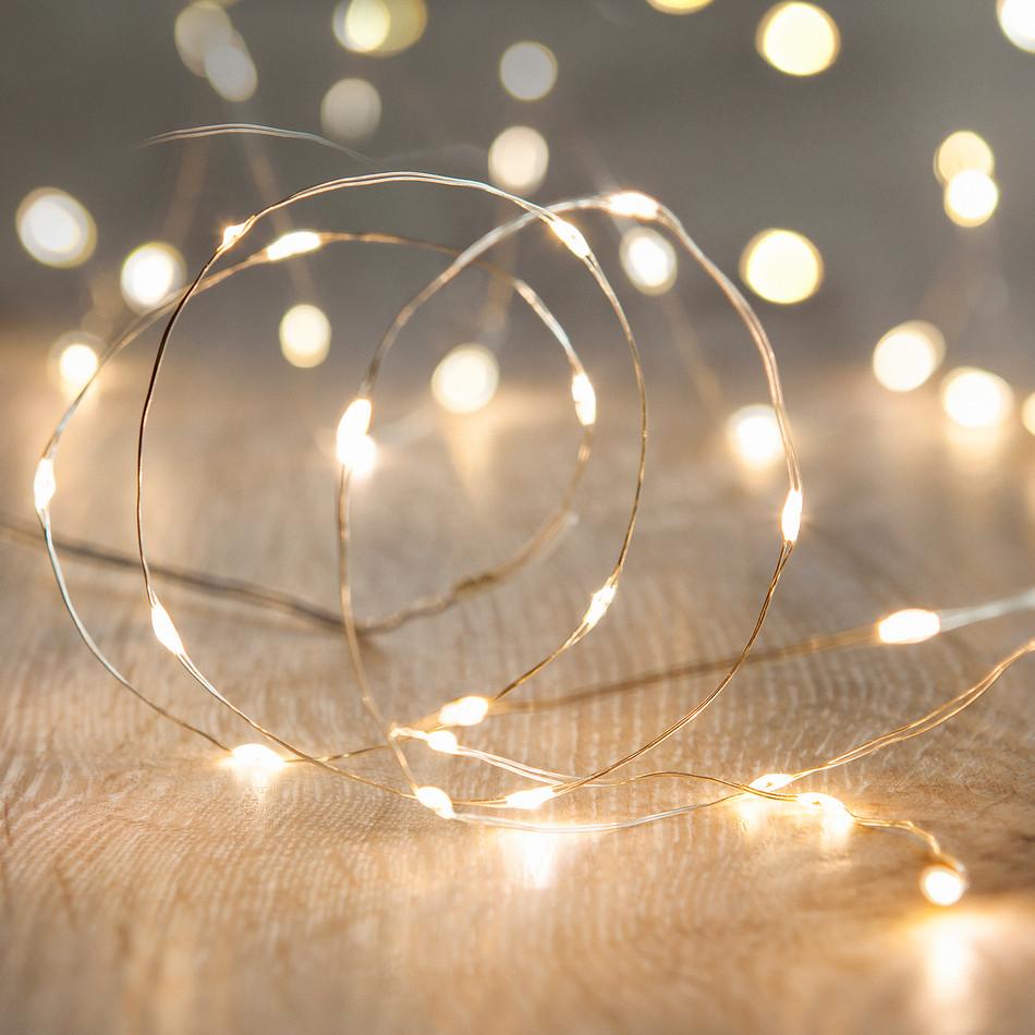 Image 0 of White LED Fairy Lights