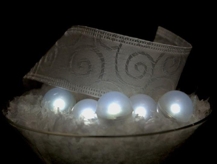 Image 0 of LED Fairy White Pearls