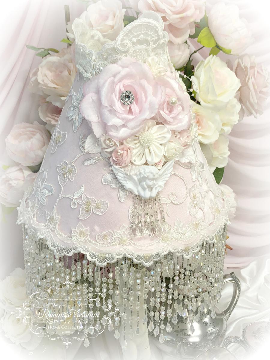 Image 2 of Climbing Roses Cherub Lamp Shade