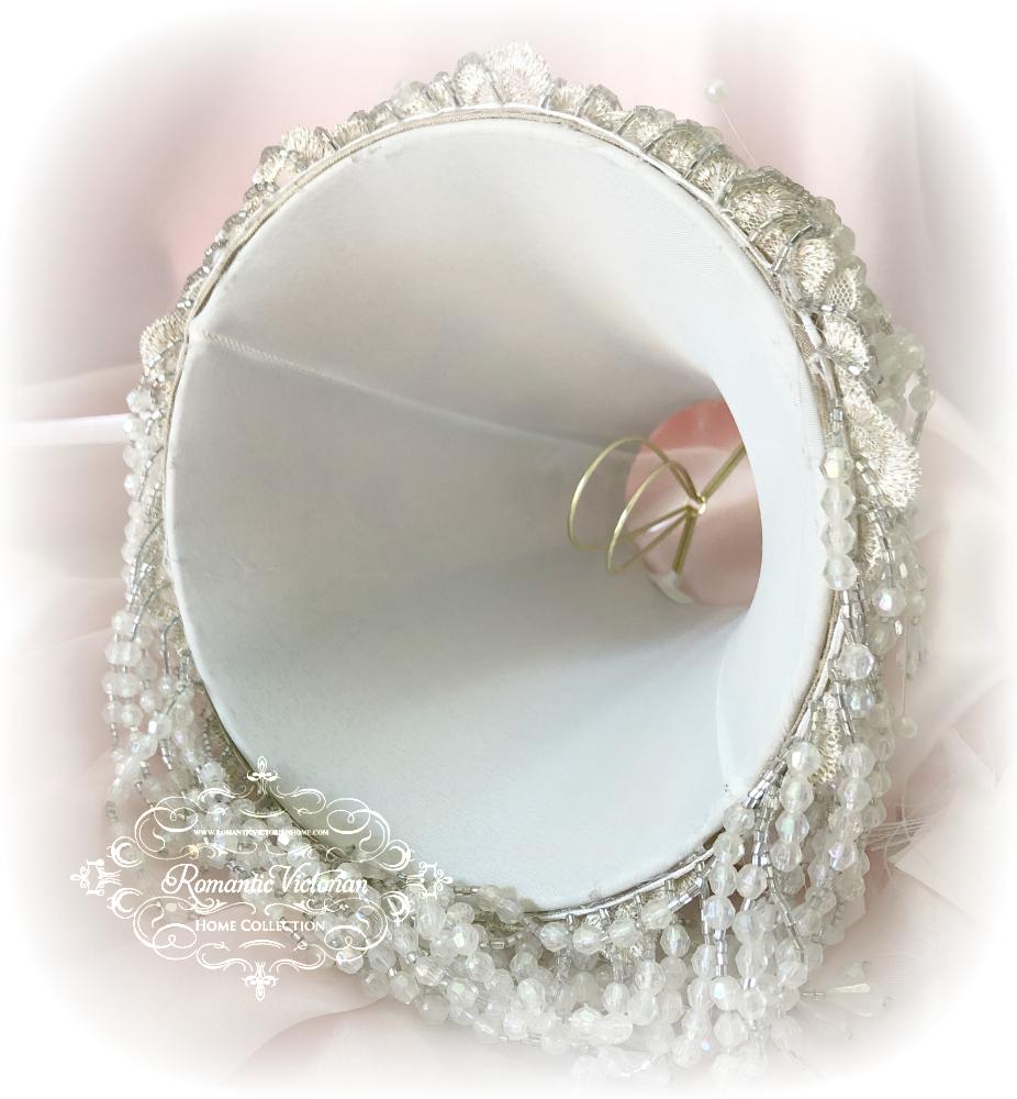 Image 5 of Rose Gold Cherub Lamp Shade