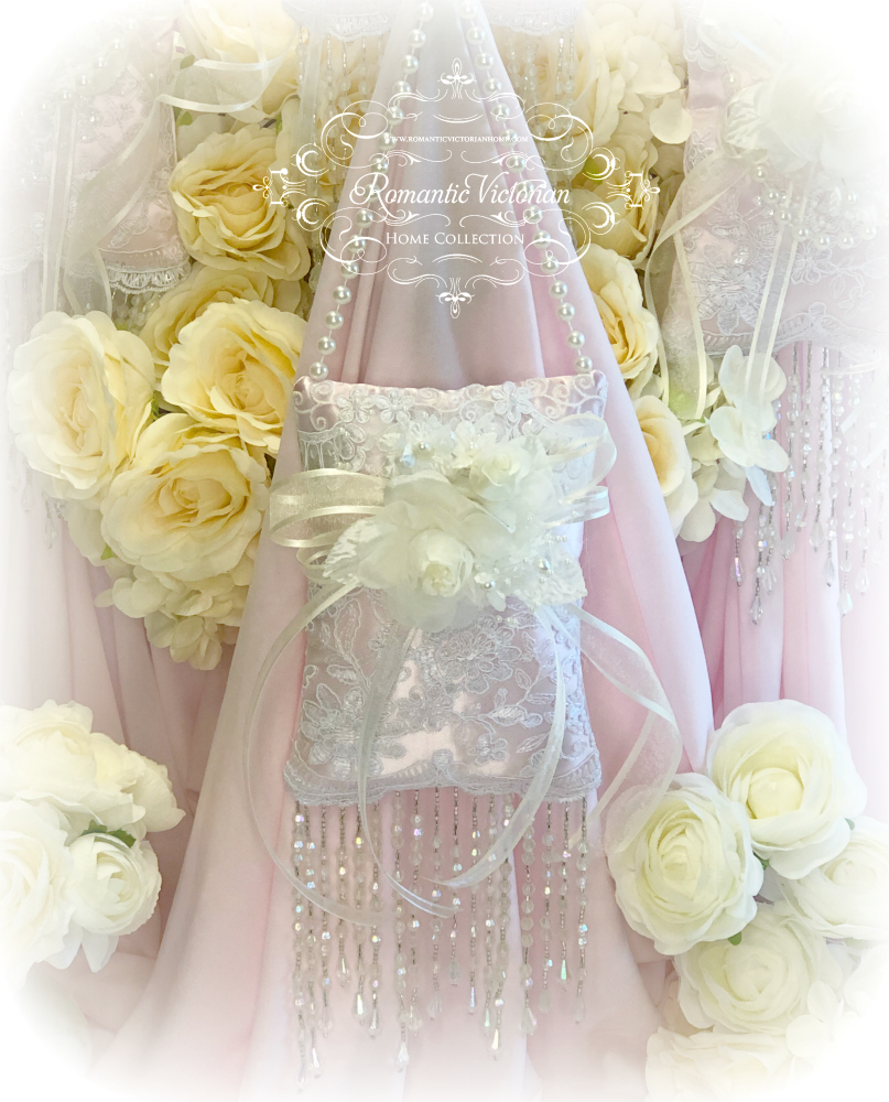 Image 1 of Ivory Pink Victorian Sachet