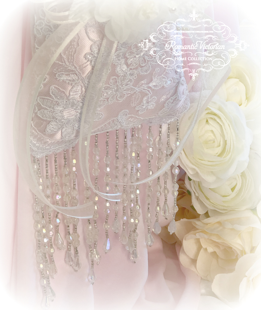 Image 3 of Ivory Pink Victorian Sachet
