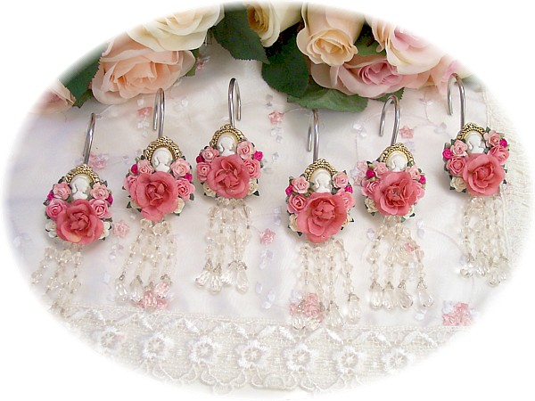 Image 0 of Cameo Shower Curtain Hooks