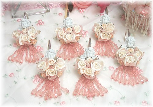 Image 0 of Cherub Shower Curtain Hooks