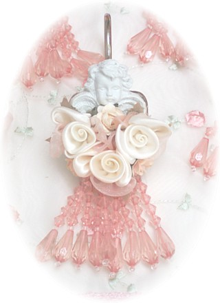 Image 1 of Cherub Shower Curtain Hooks