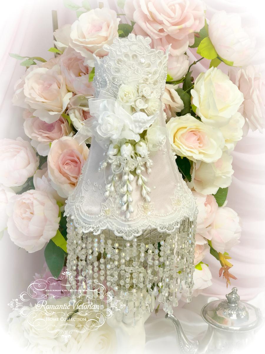 Image 0 of Blush Rose Pink Cherub Lamp Shade