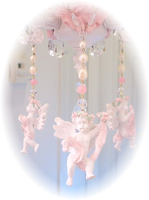 Image 0 of Large Cherub Chandelier Charms