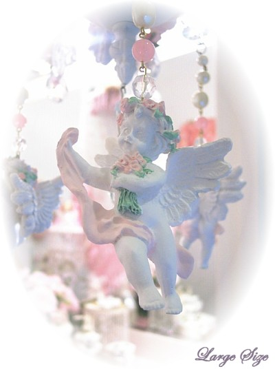 Image 1 of Large Cherub Chandelier Charms
