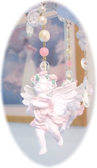 Image 2 of Large Cherub Chandelier Charms