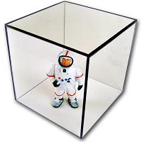Clear Acrylic Box - Interior Size Height 16 Width 16.5 Length 24.5