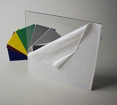 Clear acrylic plexiglass sheet 1/8