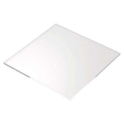 12 x 12 - Clear Acrylic Plexiglass Sheet - 3/8'' Thick Cast