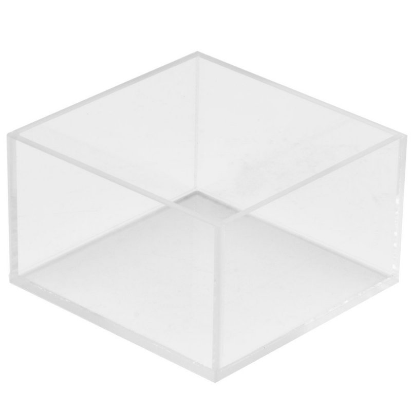 4 Sided Clear Acrylic Box