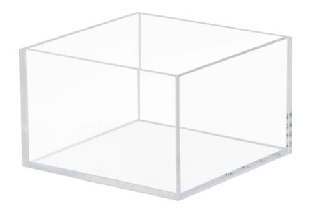 clear acrylic box 1/8 thick